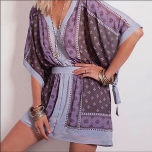 Free People Kimono Style Dress